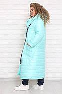 / Размер 48,50,52,54,56,58,60,62,64,66,68,70,72 / Женское пальто OVERSIZE большие размеры, фото 4