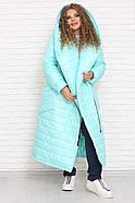 / Размер 48,50,52,54,56,58,60,62,64,66,68,70,72 / Женское пальто OVERSIZE большие размеры, фото 2