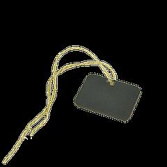 Деревянный ценник на верёвке 35*50мм 10шт/уп
