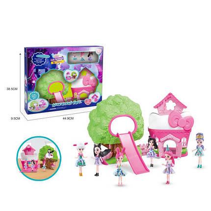 """Лялька """"E"""" світло/муз, лялечки, меблі в наборі, в кор. 38,5*9,5*45см /18-2/, фото 2"""