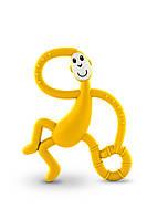 Игрушка - грызунок Танцующая Обезьянка , цвет желтый, 14 см,  Matchstick Monkey, фото 1