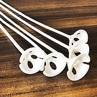 Палочки для шариков цельные 35 см, 100 шт