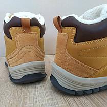 Шкіряні зимові чоловічі черевики ARRIGO BELLO (Camel) світло коричневий 41р-46р високі черевики, фото 3