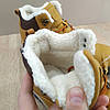Шкіряні зимові чоловічі черевики ARRIGO BELLO (Camel) світло коричневий 41р-46р високі черевики, фото 4