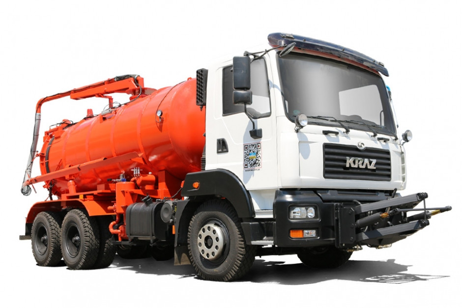 Комбінована дорожня машина КрАЗ-6511Н4, 5401Н2