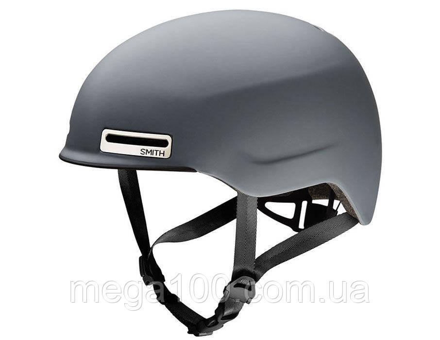 Шлем Smith MAZE цвет матовый серый, размер L 59-62см