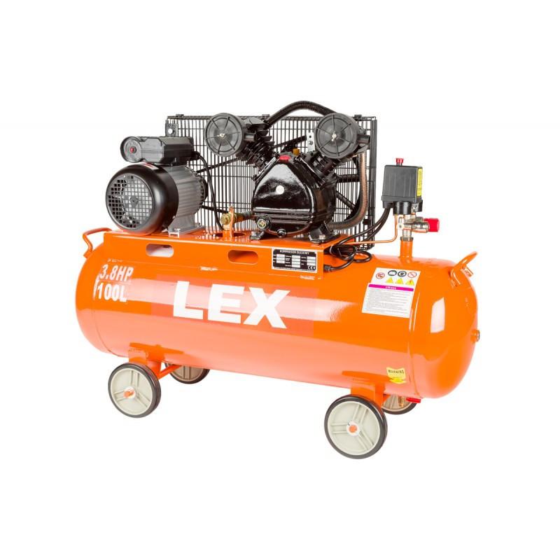 Компрессор с ресивером LEX LXC100 - ременая передача