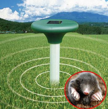Отпугиватель кротов Solar Rodent Repeller, на солнечной батарее (2шт)