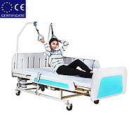 Медицинская функциональная кровать с туалетом E36. Большой размер. Кровать для инвалида. Кровать для лежачих.