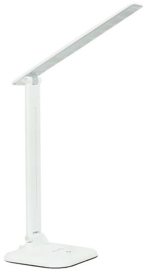 Світлодіодна настільна лампа білого кольору 9W 4000K Z-Light з трьома режимами яскравості ZL-50102