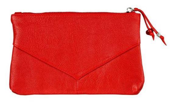 Шкіряна сумочка жіноча BlankNote BN-CB-1-rubin червона