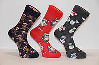 Стрейчевые мужские новогодние носки EKMEN