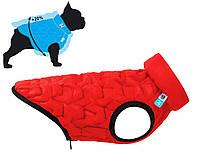 Куртка Airy Vest Uni M 43 жилет чорно-червоний одяг для собак