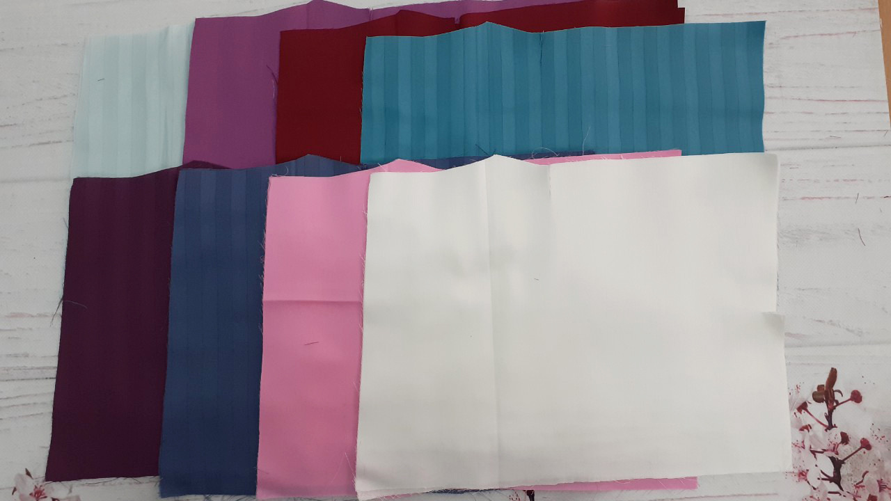 Набор для пэчворка из лоскутов ткани № А-6