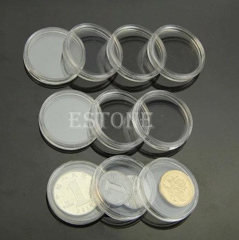 Капсулы для коллекционных монет 27 мм 10 штук