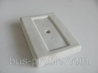 Кронштейн подушки рессоры передней (белый) MB Sprinter 96-06 (L) — SOLGY — 201139