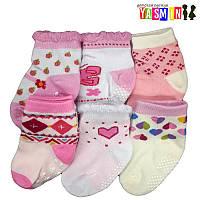 Носочки для новорожденных девочек, 6-12 мес.