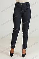 Женские укороченые брюки Флорида синего цвета 56
