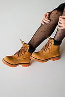 Зимние женские ботинки Timberland Ginger, Реплика, фото 1