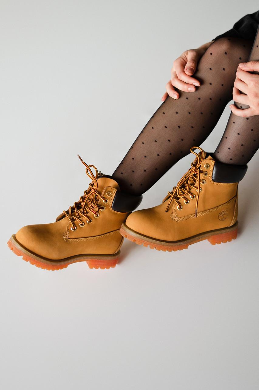 Зимние женские ботинки Timberland Ginger, Реплика