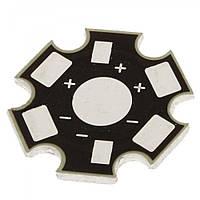 Подложка радиатор для мощных светодиодов (1W 3W 5W)