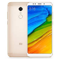 "Мобильный телефон Xiaomi Redmi5 Plus 4/64Gb Gold EU 5.99"" RAM: 4Gb ROM:64Gb Octa-core Unlocked"