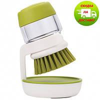 Щётка для мытья посуды с дозатором для жидкого мыла Jesopb