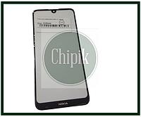 Стекло для переклейки Nokia 3.2, черное