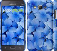 "Чехол на Samsung Galaxy Grand Prime G530H Синие цветы ""526c-74"""
