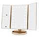 Тройное прямоугольное зеркало для макияжа с LED подсветкой 3pcs mirror., фото 2
