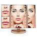 Тройное прямоугольное зеркало для макияжа с LED подсветкой 3pcs mirror., фото 5