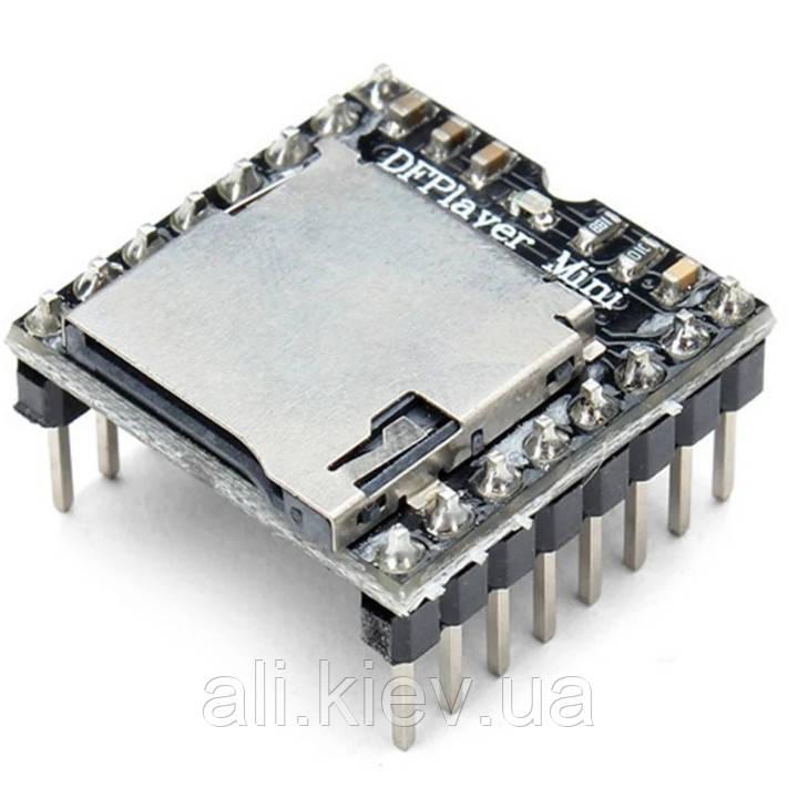 Міні-модуль MP3-програвач DFPlayer  Arduino TF card ready