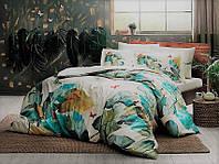 Двуспальное евро постельное белье TAC Fridas Сатин-Digital