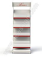 Книжный стеллаж 2100х1200мм приставной