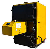 Мультитопливный котел, жаротрубный 300 кВт с пеллетной горелкой 300 кВт + шнек питатель +контроллер управления