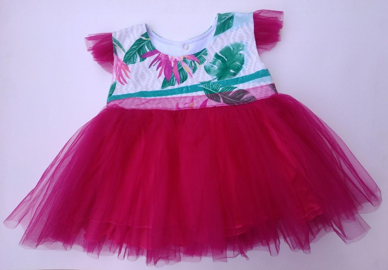 Детское нарядное  платье, 86 см