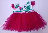 Детское нарядное  платье, 86 см, фото 1