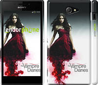 "Чехол на Sony Xperia M2 dual D2302 Дневники вампира 1 ""431c-61"""