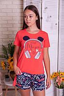 Комплект женский  футболка и шорты  Nicoletta
