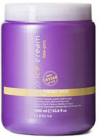 Маска для жестких и непослушных волос Inebrya Ice Cream Liss-Pro Liss Perfect Mask 1000 мл