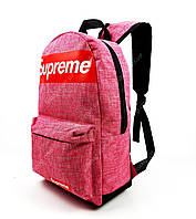 Спортивный рюкзак Supreme Розового цвета