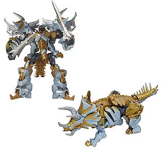 Трансформер Hasbro динобот Слаг из 5-й части кинофильма,14СМ - Dinobot Slug, Deluxe Class, Premier Edition