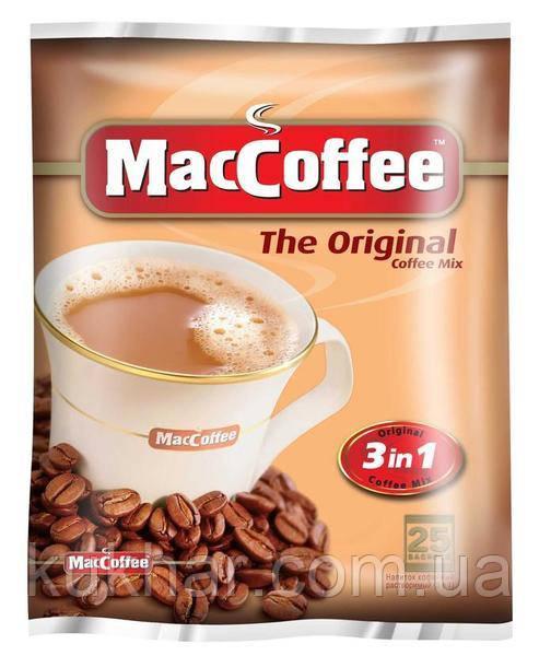 """Кава """"MacCoffee"""" 3в1 Original 20г (уп.25)"""