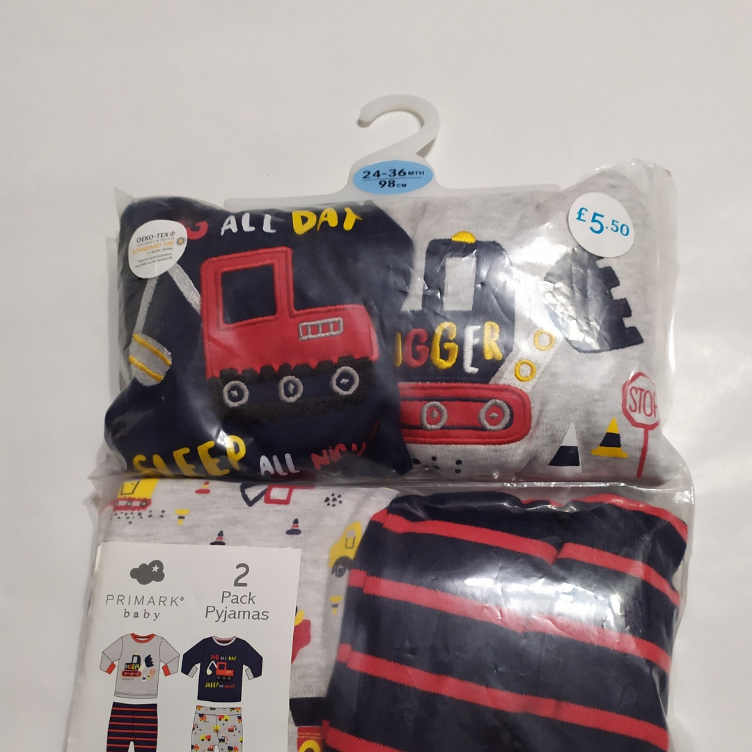 Пижама для мальчика Primark (Англия)  р.98см. (2-3года)