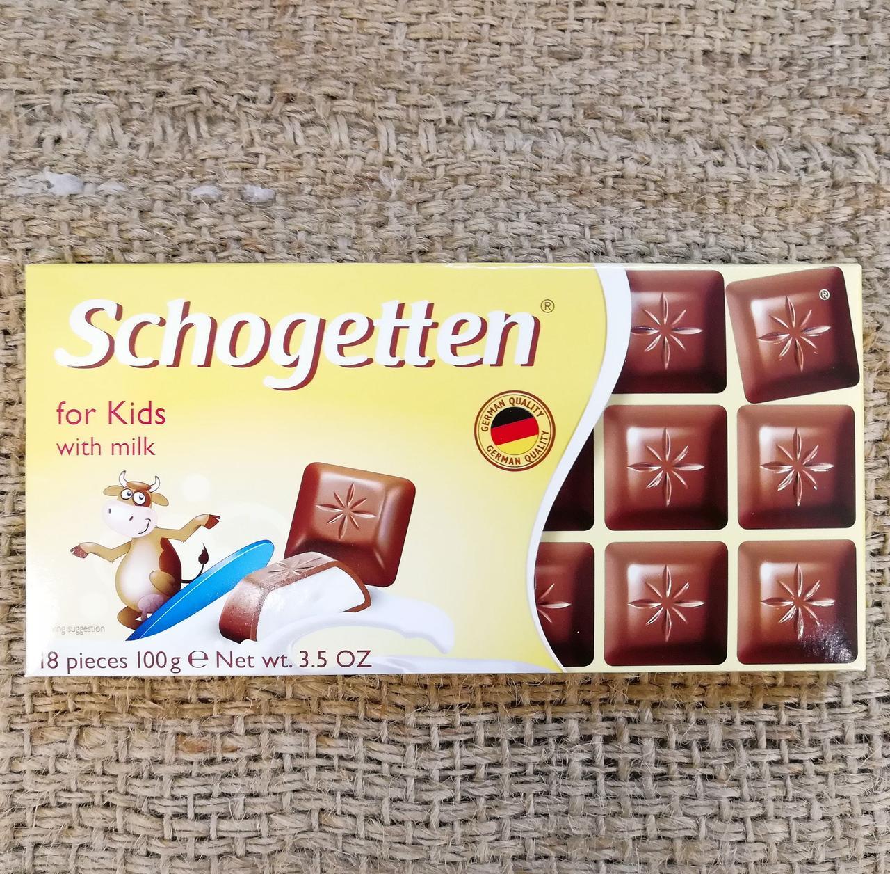 Шоколад Schogetten For Kids 100 gramm
