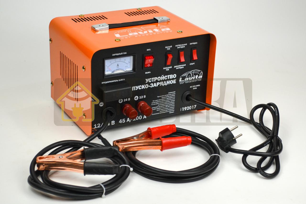 Пуско-зарядное устройство 45/100А, 12/24 Lavita LA 192017