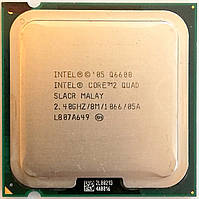 Процессор Intel Core 2 Quad Q6600 G0 SLACR 2.4GHz 8M Cache 1066 MHz FSB Soket 775 Б/У