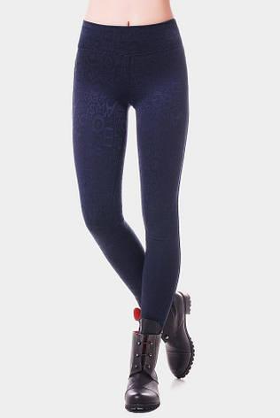 Стильні сині жіночі LETTERS, фото 2
