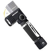 LED фонарь N7 EDC с магнитом и поворотной головкой от 14500 АА  600лм IP65