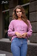Теплый свитер женский5137